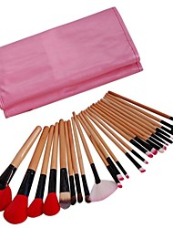 24pcs New Professional Cosmetic Makeup Brush Set Make-up Toiletry Kit
