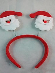 Christmas Party Cute Santa Claus Head Hat  Hair Head Band