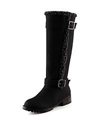 Francis cat Women's All Matching Ball Peen Low Heel Boots