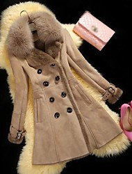 OUSHANGNAI™ Women's Fashion Faux Fur Coat(More Colors)
