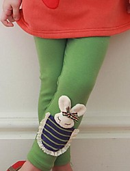 Girl's Leggings Cotton Blend Winter / Spring / Fall