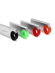 ourspop sottile usb 2.0 Flash op-125 8GB ultra con anello - argento + caffè pen drive