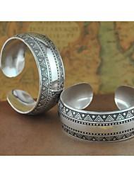 1pcs bracelet n0.8 argent sculpté la mode