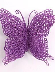 kerstboom decoratie vlinder simulatie bloem
