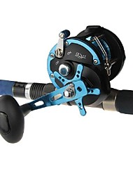New Deap Ocean Trolling Fishing Reels One-way Stainless Steel Ball Bearing Metal Drums and Frame Right Hand Topwin