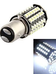 Auto Schwanz Backup-Lampe 2ST 1157 BA15d 80 LED 3528 SMD weiß DC 12V jhk179001