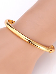 Hot Sale Vintage Bangle for Women 18K Gold Platinum Plated Cuff Bangles Bracelet High Quality