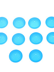 10pcs Silikonkappen für PS4 / PS3 / PS2 / xboxone / xbox360 Controller