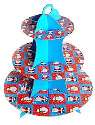 Festa Tableware Acessório para Bolo Natal Não-Personalizado Azul