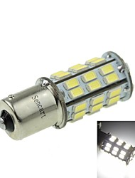 1156 (P21W Ba15s) 12W  2-Mode White 1000LM 6000K for Car Brake Lamp (DC12V)