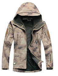 Ruin® Softshell Jacket Mud Camouflage Shark Skin Soft Shell Waterproof Hunting Jacket