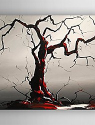 Oil Painting Modern Abstract Tree Hand Painted Canvas with Stretched Framed
