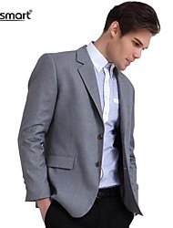 Lesmart® Men's Business Casual Gentleman Gray Suit