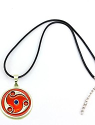 Naruto Madara Uchiha Mangekyō Sharingan Alloy Pendant Cosplay Necklace