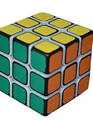 54,6 milímetros três ordem super cool cubo jogo rápido (cor aleatória)