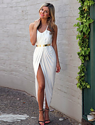 Dolce Women's Sexy Slim Waisted Strap Dress