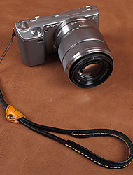 CAM-in CAM2075 Genuine Leather Universal Wrist Strap for Camera