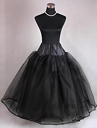 Four Tiers Floor-Length Wedding Petticoats