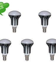 duxlite® 5шт r50 e14 9W (= инков 75w +) CRI>80 810lm 15x3022smd 3000k теплый белый свет водить пятна (AC 85-265V)