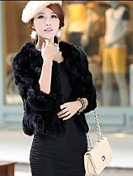 mulheres baibian toda a partida pele cor sólida casaco térmico