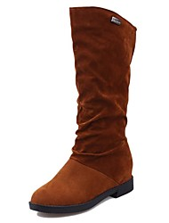Women's Shoes Fashion Boots Flat Heel Mid-Calf Boots