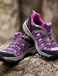 cor roxa respirável ao ar livre camping / caminhadas / viajando calçados esportivos femininos