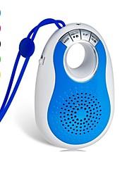 J18 mini alto-falante sem fio bluetooth portátil suporta temporizador Bluetooth com funções slot para cartão TF e viva-voz