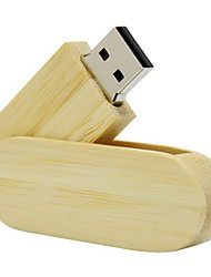 OUSU Bamboo Style 16GB USB Flash Drive Pen Drive