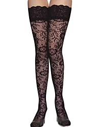 Women's Fashion Figured Tattoo Knee High Stockings