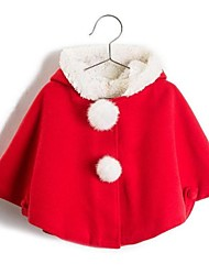 Santa Cape Velvet Kids Christmas Costume