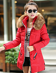 estilo coreano dupla mama cor sólida sobretudo tofeel das mulheres