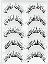 Eyelashes lash Eyelash Natural Long Volumized Natural Fiber