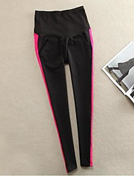 Maternity Casual Skinny Pants , Polyester Stretchy
