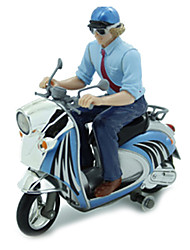 Silverlit RC Car Mini Remote Control Electric Simulation Motorcycle with Light
