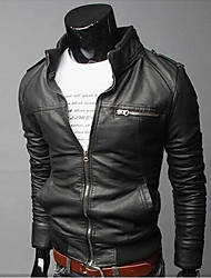Men's Faux Leather Casual/Work Halei