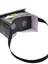 """diy google papelão realidade vr virtuais de telefonia móvel óculos 3d com tag função NFC para 4-5.6 """"smartphone com tela"""