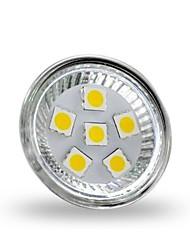 2W GU4(MR11) Spot LED MR11 6 SMD 5050 200 lm Blanc Chaud Décorative DC 12 V