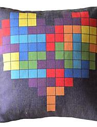 мультфильм пикселей декоративная подушка со вставкой