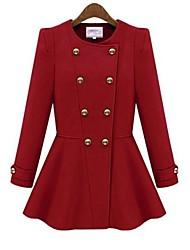 l.h.l último abrigo de invierno de la moda europea