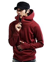capuche personnalité tirette de hoodie de coton o de lesen hommes