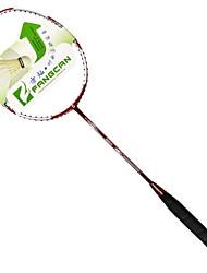 vermelho Fangcan com prata grafite raquete de badminton profissional