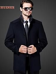 ocasional blazer de cashmere likefushi®men coatst turn-down colla 8862