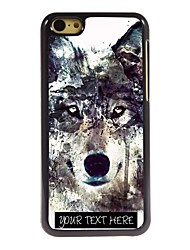 Personalized Phone Case - Iceberg Wolf Design Metal Case for iPhone 5C