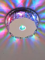 pasillo salón comedor llevó las luces del techo de cristal