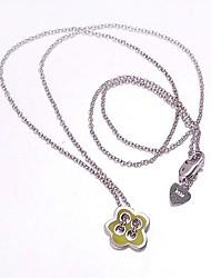 AS Creative Silver Necklace