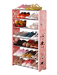 Plastic Metal Shoes Rack for Shoes Storage One PCS