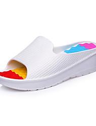 Rubber Men's Flat Heel Slide Sandals Shoes (More Colors)