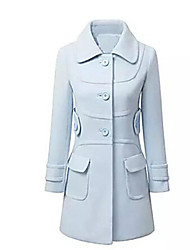 Women's New European Linen Coat Coat