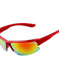 Sunglasses Men's Lightweight / Sports / Fashion Black / White / Yellow / Red / Blue / Green / Gray Sunglasses