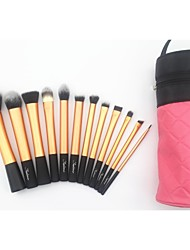 12 Makeup Brushes Set Synthetic Hair Sedona
